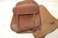 Bells Leather Saddlebags