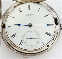 United States Watch Co, Marion, NJ, coin silver