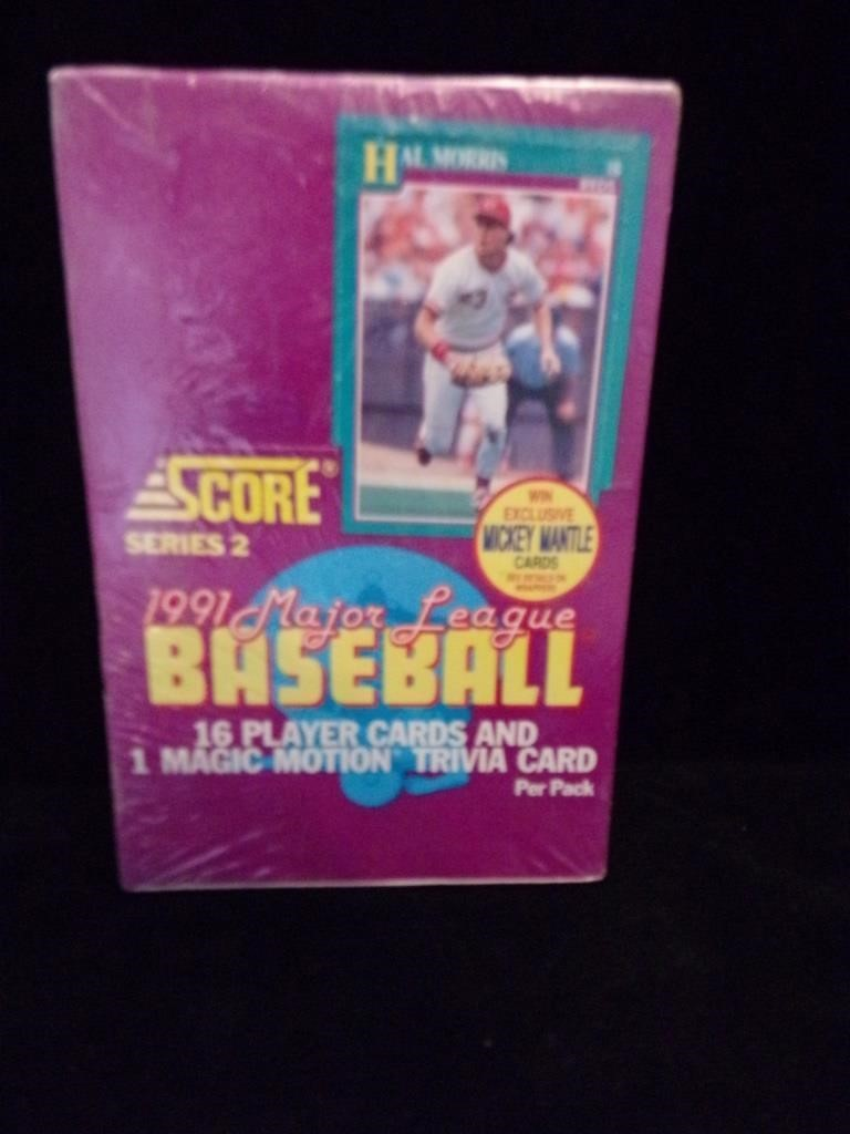 Score 1991 Major League Baseball Box | D & S Auction Co
