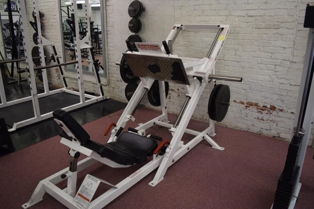 Body Masters LE 408A inverted leg press | HiBid Auctions