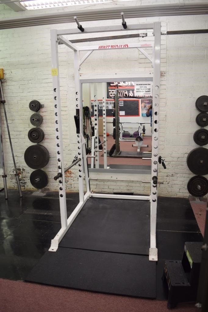 Body Masters Power Rack | HiBid Auctions