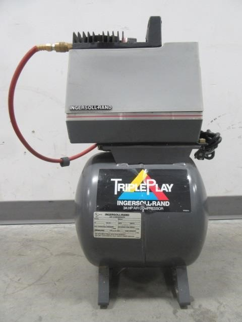 Triple Play Ingersoll-rand 3/4hp Air Compressor | United Country
