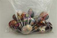 BAG OF HAND PAINTED RUSSIAN EGGS