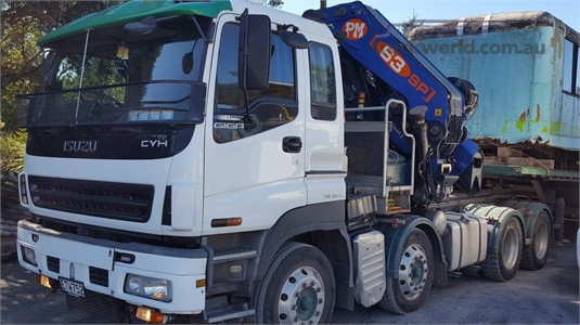 2008 Isuzu CYH Trucks for Sale