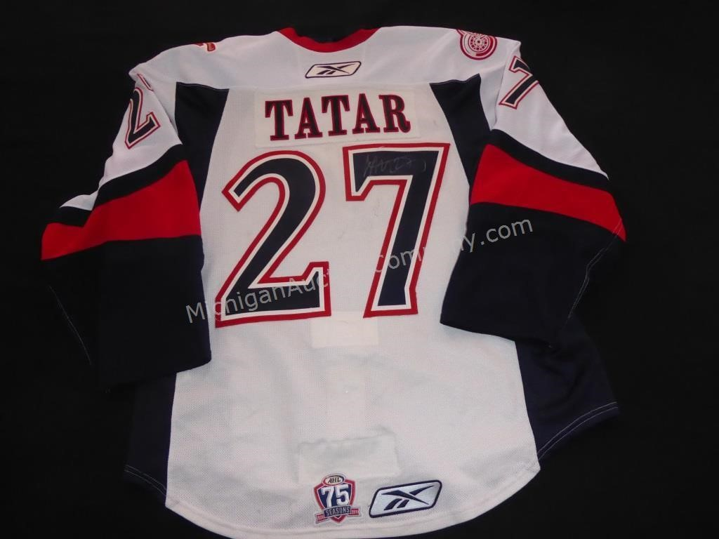 Tomas Tatar Grand Rapids Griffins Game Worn Jersey American Eagle Auction Appraisal Company