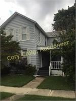 Real Estate Auction 317 W. Vine Taylorville, IL Online Only