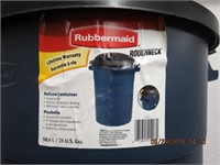 Rubbermaid Roughneck 98.4L garbage can
