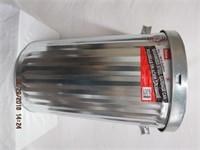 New75L galvanized garbage can
