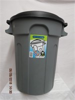Gracious Living 80L garbage can with Slug B Gone,
