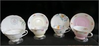4 Occupied Japan cups and saucers