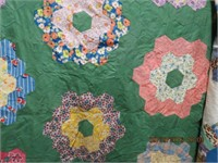 3 Quilt tops no backing