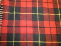 "Ottawa Valley pure wool blanket 56 X 64"""