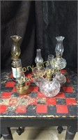 5 Small Oil Lamps