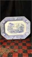 2 Severing Platers Porcelain