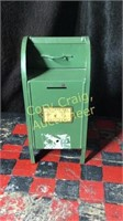 Coin and Bills Mail Box Bank