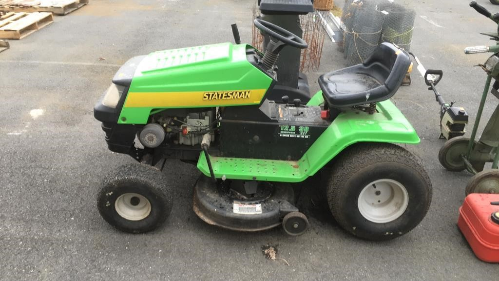 Who Makes Statesman Lawn Mowers Holiday Hours