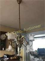 Chandelier In The Dinning Room BRING TOOLS TO