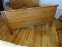 full/double size bed (head & foot boards) and