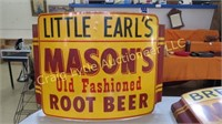 Antique cars and vintage signs
