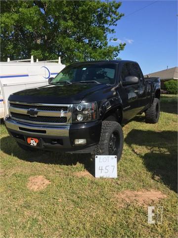 2009 Chevy Silverado For Sale >> Lot 457 2009 Chevrolet Silverado 1500 For Sale In Meno Oklahoma