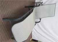 Aluminum frame lounge chair, adjustable