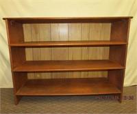 """Plywood 3 shelf stand 48.5 X 16.25 X 37""""H"""
