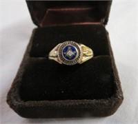 Men's10K Masonic ring