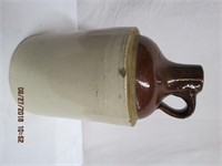 Crock jugs chips see picture
