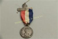 UNUSUAL CORONATION PIN FOR KING EDWARD VII