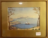 L.I. EYRES - TWO WATERCOLOURS