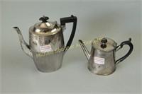ENGLISH GEORGIAN STYLE TEA  AND COFFEE POT
