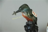 KING FISHER HAT PIN HOLDER PLUS OTHER ITEMS