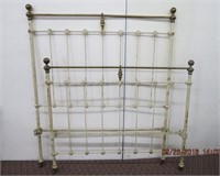 """Iron and brass 3/4""""  bed"""