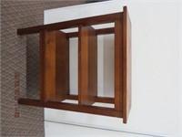 """Pine 3 tier shelf 28 X 14 X 37""""H"""