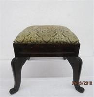 "Antique square foot stool 15 X 15 X 15""H"