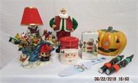 Collection of Christmas and Halloween