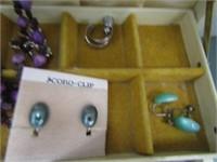Costume Jewellery & Jewellery Box