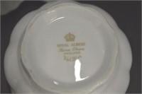 Royal Albert Cream/Sugar & B&B Plates