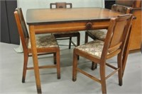 Deco Style Dining Table & Chairs