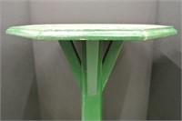 Overpainted Pedestal Table