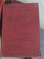Mid 1800s Books
