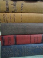 Collection of Medical Vintage Hardcover Books