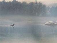 John Petrella Early Morning Mist Print