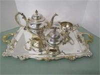 Silverplate Tea Service