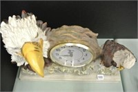 Eagle Battery Operated Mantle Clock