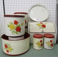 Retro Canister Lot