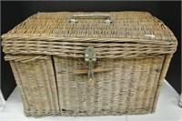 Antique Picnic/Luncheon Basket