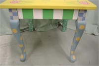 Tole Painted Chair