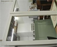 Pair of Large Framed Mirrors