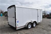 2009 Interstate Cargo Trailer; 16'x7x77,